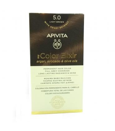 APIVITA TINTE COLOR ELIXIR LIGHT BROWN 5.0