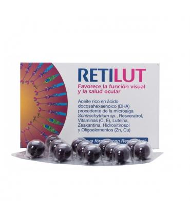 RetiLut Complemento Alimenticio para la Visión