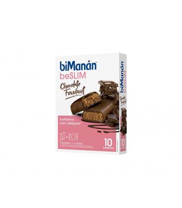 Bimanán BeSlim Barritas Chocolate Fondant