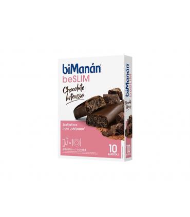 Bimanán BeSlim Barritas Chocolate Intenso
