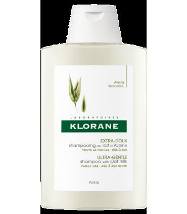 Klorane Champú a la Leche de Avena 400 ml