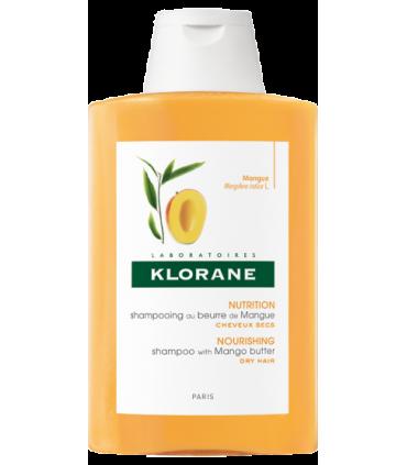 Klorane Champú con Manteca de Mango 400 ml