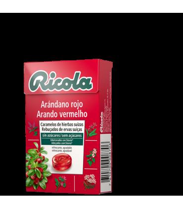 Ricola Arándano Rojo Caramelos
