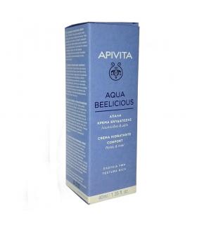 apivita aqua beelicius crema hidratante textura rica