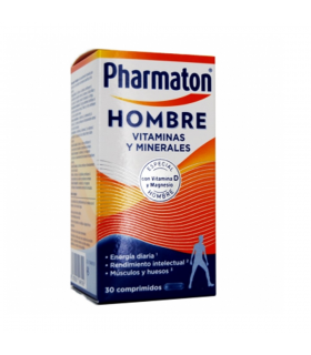 PHARMATON HOMBRE VITAMINAS Y MINERALES 30 COMPRIIDOS