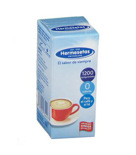 Hermesetas Edulcorante 1200 Comprimidos