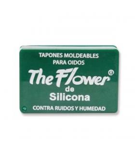 tapones oidos silicona flower