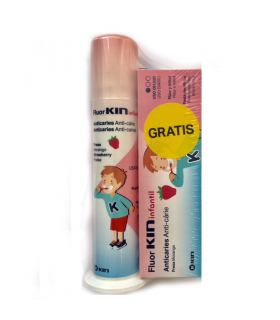 Fluor Kin Infantil Pasta Dosificador
