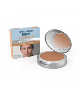 Fotoprotector Isdin Compact Bronce Spf50+