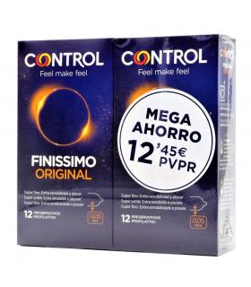 Control Finissimo Preservativos Pack 2 x 12