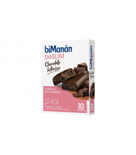 Bimanán BeSlim Chocolate Intenso Barritas