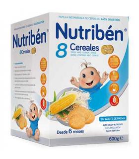 Nutribén 8 Cereales Galletas María