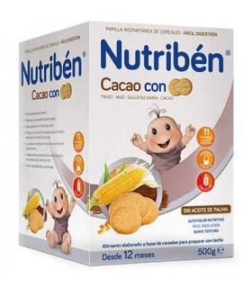 Nutribén Cacao con Galletas María