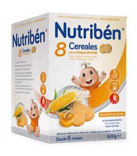 Nutribén 8 Cereales con un Toque de Miel Galletas María