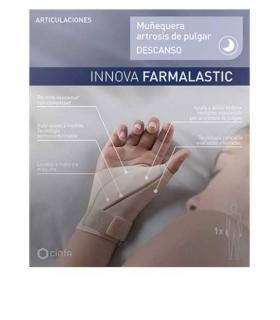 Farmalastic Muñequera Artrosis Pulgar Descanso Izquierda T-G