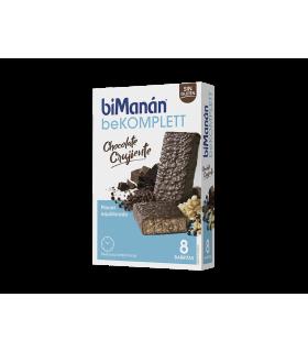 Bimanán BeKomplett Chocolate Crujiente Barritas