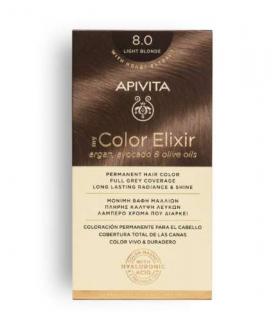 apivita tinte elixir 8.0 rubio claro