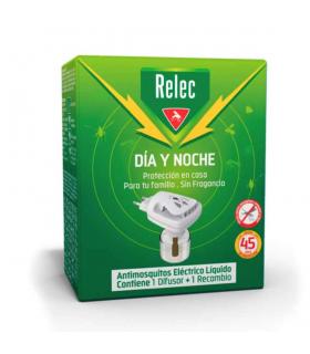 Relec Día y Noche Antimosquitos Eléctrico Líquido