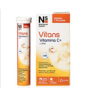 ns vitans vitamina c 20 comprimidos