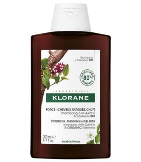 Klorane Champú a la Quinina y Edelweiss Bio 400 ml