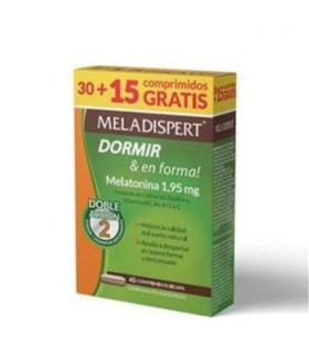 meladispert dormir y en forma 30 + 15 comprimidos pack ahorro