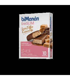 BiManán BeSlim Barritas Toffee Caramelo