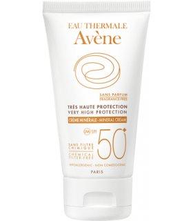 Avène Crema Mineral Spf50+
