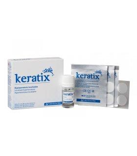 Keratix Solución con 36 Parches Adhesivos