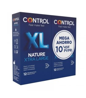 Control Nature XL 12 Preservativos Pack Duplo