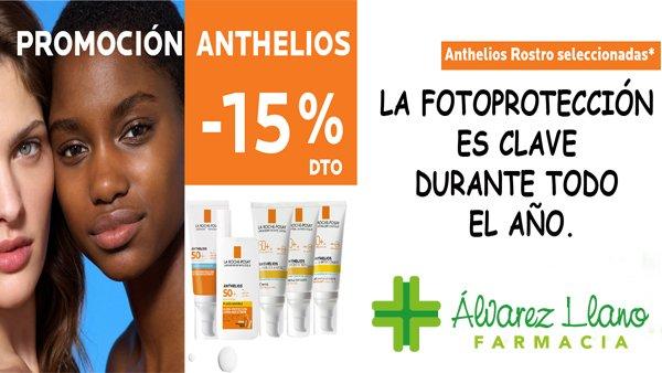 Anthelios Promoción 15% Descuento