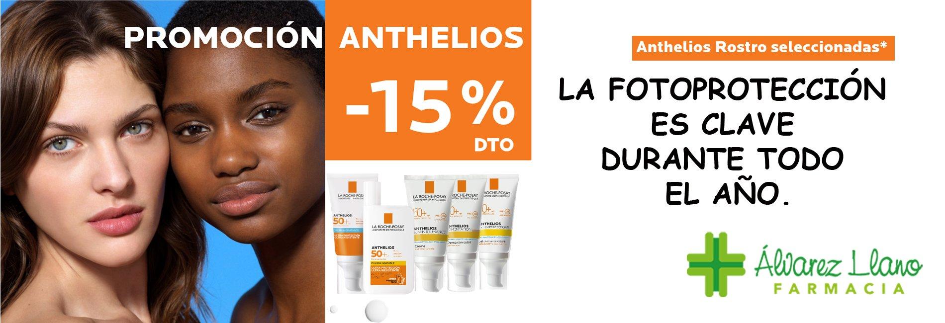 Anthelios Promoción 15% Descuento Septiembre Octubre